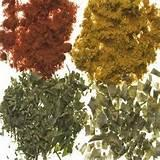 Photos of Organic Spices