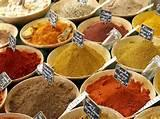 Indian Food Spices Photos