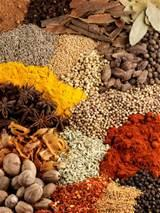 Photos of Seasonings Spices